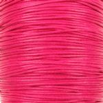 Wax cotton 0.6mm - Rose (one metre)